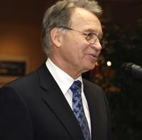 Vorsitzender Ortwin Goldbeck