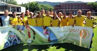 Die Mannschaft der Universität Bielefeld stellt als Deutscher Hochschulmeister das Nationalteam der Studenten.