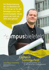 Plakat-Aktion: Andreas Götz, Architekt beim Bau- und Liegenschaftsbetrieb NRW in Bielefeld