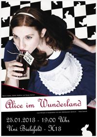 Alice im Wunderland verzaubert den Hörsaal