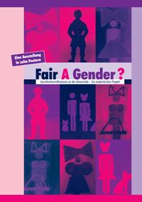 """Bis zum 26. April ist in der Universitätsbibliothek die Ausstellung """"Fair A Gender?"""" zu sehen."""
