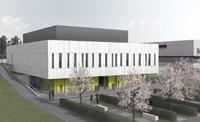 So soll der Neubau für die Experimentalphysik  in knapp einem Jahr aussehen.