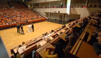Erstsemesterbegrüßung an der Universität Bielefeld
