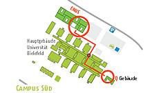 Plan Gebäude X