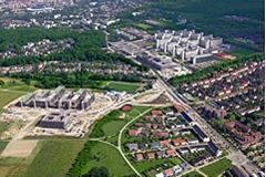 Luftbild Campus Bielefeld