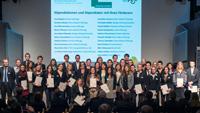Stipendiatinnen und Stipendiaten der Universität Bielefeld.Foto: Stiftung Studienfonds OWL/Martin Brockhoff