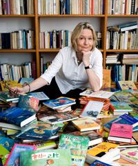 Kirsten Boie liest am 20. November in der Universitätsbibliothek.Foto: Paula Markert