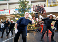 Musicaltanzgruppe aus dem Freizeit- und Kulturzentrum Neue Schmiede