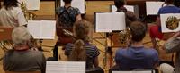Die Mitglieder der UniBigband  präsentieren Jazz von Gil Evans. Foto: Elena Berz