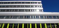"""Der Ersatzneubau Universitätsstraße der Universität Bielefeld erhält nun den Namen """"Gebäude X"""". Foto: Universität Bielefeld"""