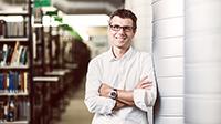 Der Bielefelder Biophysiker Dario Anselmetti erforscht Krankheiten nanomedizinisch. Foto: Michael Adamski