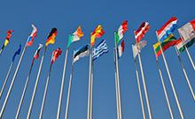 Europäische Flaggen