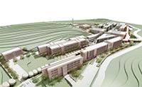 Mit dem Bau dieses neuen Campus der TDU in Istanbul soll im Herbst begonnen werden. Die Fertigstellung ist für 2016 geplant.