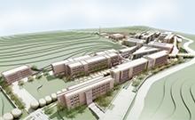 Bau dieses neuen Campus der TDU in Istanbul