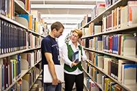 Gute Beratung gehört zum Service der Universitätsbibliothek.