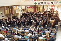 Bielefelder Philharmoniker spielen zum Semesterstart. Archivfoto: Universität Bielefeld