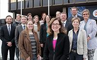 Vertreterinnen und Vertreter der Hochschulen in Ostwestfalen-Lippe trafen sich zum Kick-off Meeting ihres gemeinsamen  Projekts eu4owl – PROMPT. Foto: Vanessa Dreibrodt, Universität Paderborn