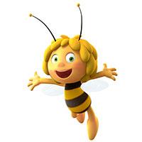 """Die Biene Maja zu Gast in Bielefeld: Die Tagung zu """"Bonsels' Tierleben"""" befasst sich mit Insekten und Kriechtieren in Kinder- und Jugendmedien. Foto: Nach den Geschichten von Waldemar Bonsels """"Die Biene Maja"""" © Studio 100 Animation TM Studio 100"""
