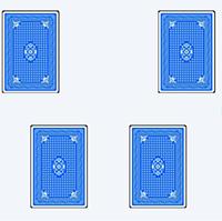Mit Spielkarten beeinflussten Sprachwissenschaftler der Universität Bielefeld, wie schnell Versuchspersonen Sätze verstehen konnten, und das obwohl die Karten inhaltlich keinen Bezug zu den Sätzen hatten. Foto: Universität Bielefeld