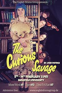 Zum Semesterende präsentiert die English Drama Group eine Komödie von John Patrick.