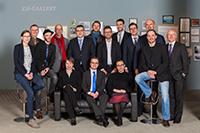 Dissertationspreisträger 2014 mit Vertretern der Universität und der Universitätsgesellschaft (v.l.): Dr. Sandra Klausing, Prorektor Prof. Dr. Martin Egelhaaf, Philip Bornkessel, Dr. Stefan Janssen, Dr. Matthieu Felsinger, Dr. Moritz von Gliszczynski, Dr. Nathan Devos, Stephan lsernhagen, Dr. Christian Mikolajczak, Herbert Vogel, Vorsitzender WLUG, Christian Seegelke, Jürgen Heinrich, Geschäftsführer WLUG, und sitzend davor Rabea Schweiger, Dr. Jan-Hendrik Lamm und Dr. Emily Finne.