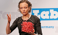 FameLab-winnerin 2014: Anastasia August