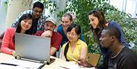 Kursteilnehmer an der Universität Bielefeld. ArchivfotoFoto: Martin Brockhoff/Universität Bielefeld