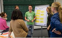Lernsituation mit Studierenden Copyright: Universität Bielefeld/M. Brockhoff