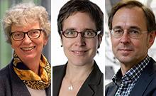 Professorin Dr. Katharina Kohse-H�inghaus, Dr. Anne Friedrichs, Professor Dr. Andreas Zick  Copyright: Universit�t Bielefeld/AWK NRW