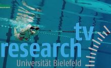 Schwimmerin im Pool - research_TV Copyright: CITEC/Universit�t Bielefeld