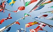 Europ�ische Flaggen Copyright: Fotolia/marqs