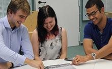 Internationale Studierende Copyright: Universität Bielefeld