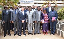 Gruppenfoto Eröffnung Copyright: Universität Yaoundé