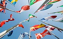 Flaggen verschiedener Länder Copyright: marqs - fotolia.com