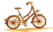 Fahrrad  Copyright: Universität Bielefeld
