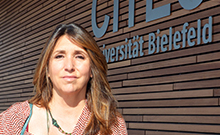 Gloria Origgi Copyright: CITEC/Universität Bielefeld