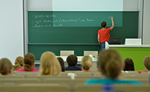 Lehrsituation Copyright: Universität Bielefeld
