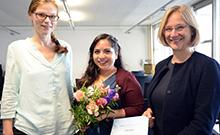 Preisübergabe Copyright: Universität Bielefeld