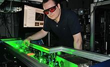 Laser spectroscopy Copyright: Bielefeld University