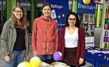 Erasmus-Tag Copyright: Foto: Universität Bielefeld