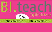 Ankündigung BI.teach Copyright: Universität Bielefeld
