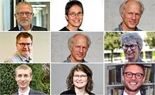 Köpfe aus der Personalienmeldung Copyright: Universität Bielefeld