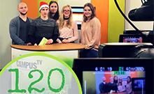 Campus TV Studio Copyright: Campus TV / J. Groll