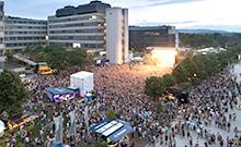 Campus Festival Gelände Copyright: Stefan Sättele