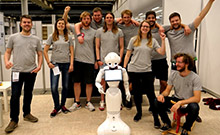 Robot World Champion Copyright: Bielefeld University / CITEC