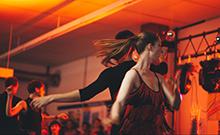 Tanzpaar Copyright: Bielefeld University/L. Hecht