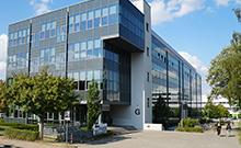 Bild vom Laborgebäude Copyright: Universität Bielefeld
