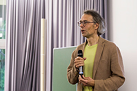 Prof. Dr. Gernot Akemann is the organizer of the 15th Brunel–Bielefeld Workshop. Photo: Bielefeld University/A. Polina