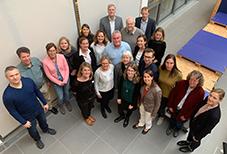 Das Beratungsteam zum Thema Studienzweifel der Universitäten, Hochschulen und Kammern in Ostwest-falen-Lippe. Foto: Technische Hochschule OWL