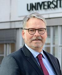 Dr. Hans-Georg Bollweg, Foto: Universität Bielefeld